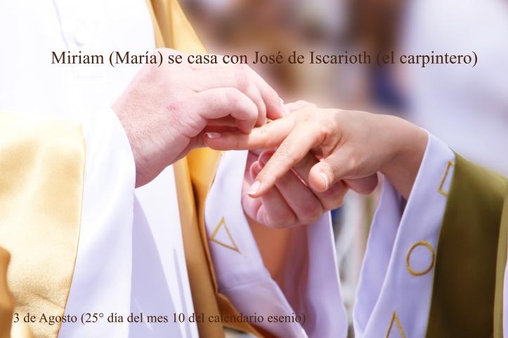 Miriam se casa con Jose_AGOSTO1